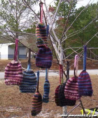 knitted ornaments 2