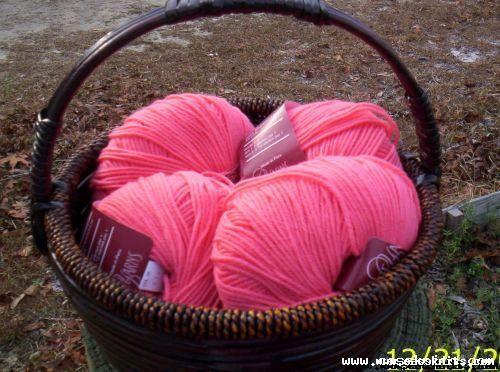pink cascade superwash